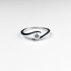 Swarovski prsten se zirkonem