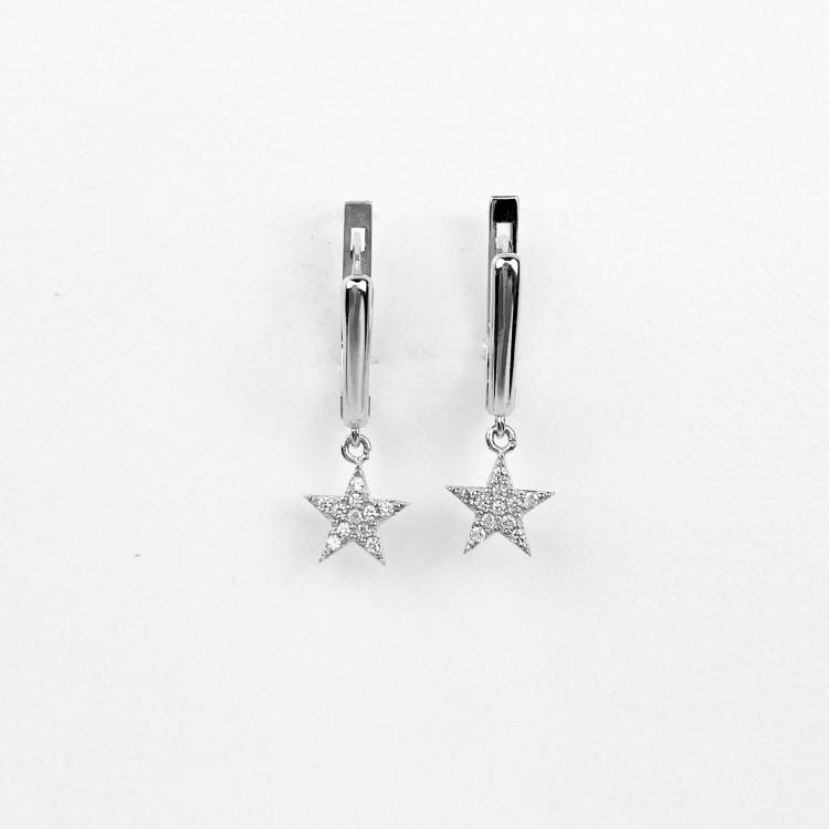 Swarovski náušnice s hvězdami