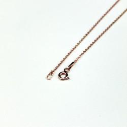 Luxusní rosegold náhrdelník